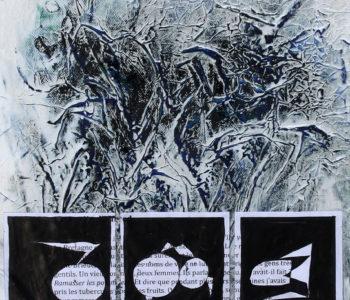 Histoire de femmes et de tubercules 32x32 cm