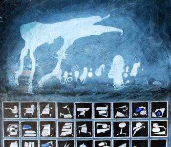 Les galettes de Guingamp 60x60 cm