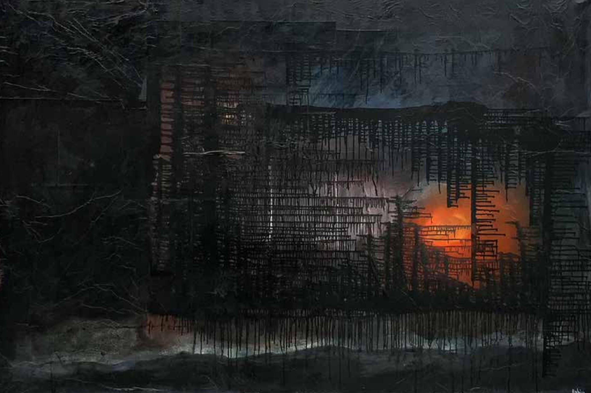 « Sunrise » 200x130 cm - 2021